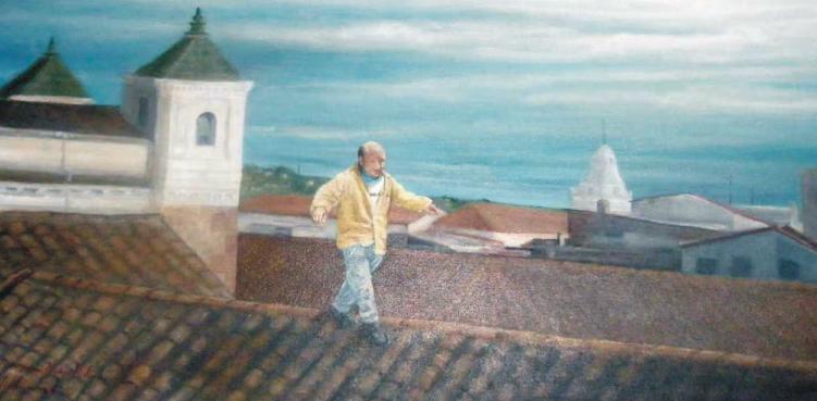 """""""Equillibrio"""" David Santillán, 2006. colección particular."""